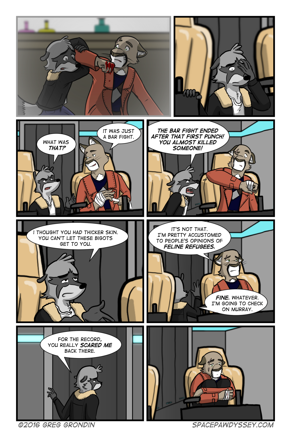 Space Pawdyssey #14