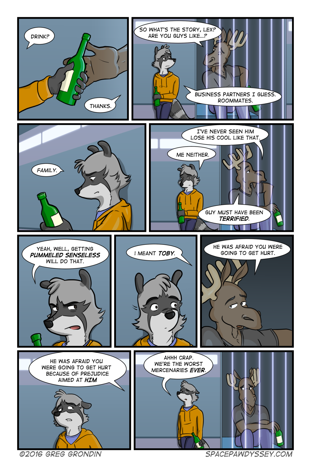 Space Pawdyssey #16