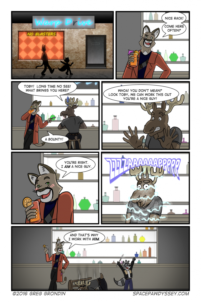 Space Pawdyssey #8 – The Nice Guy – Space Pawdyssey