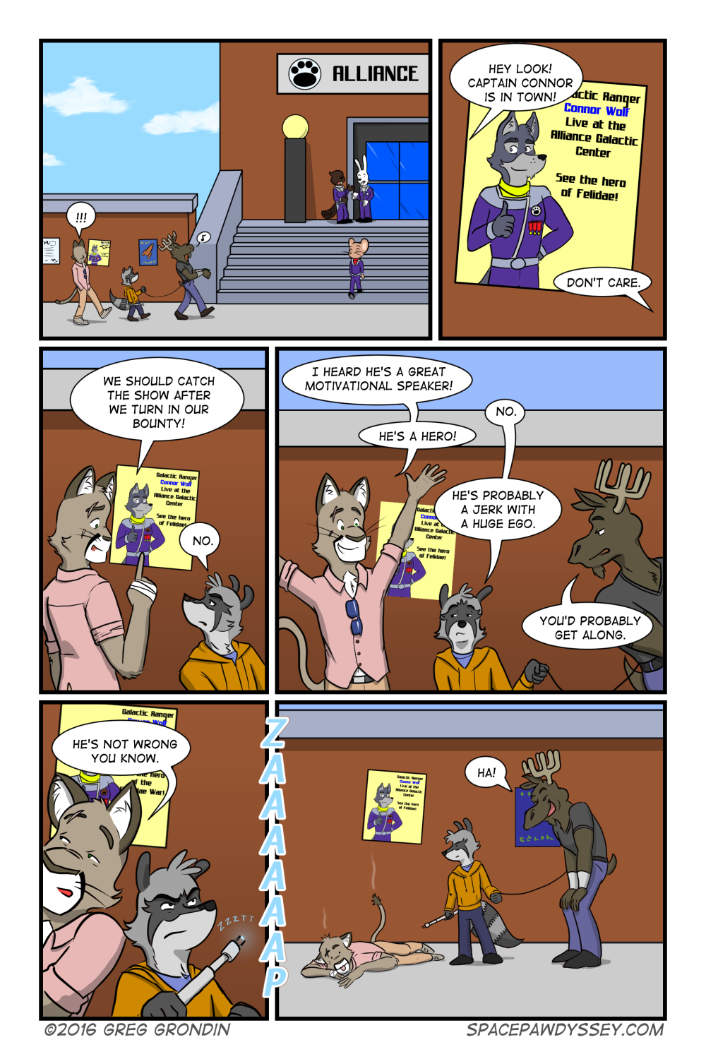 Space Pawdyssey #18
