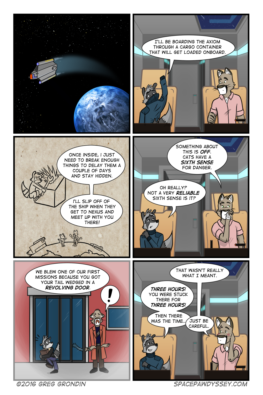 Space Pawdyssey #26