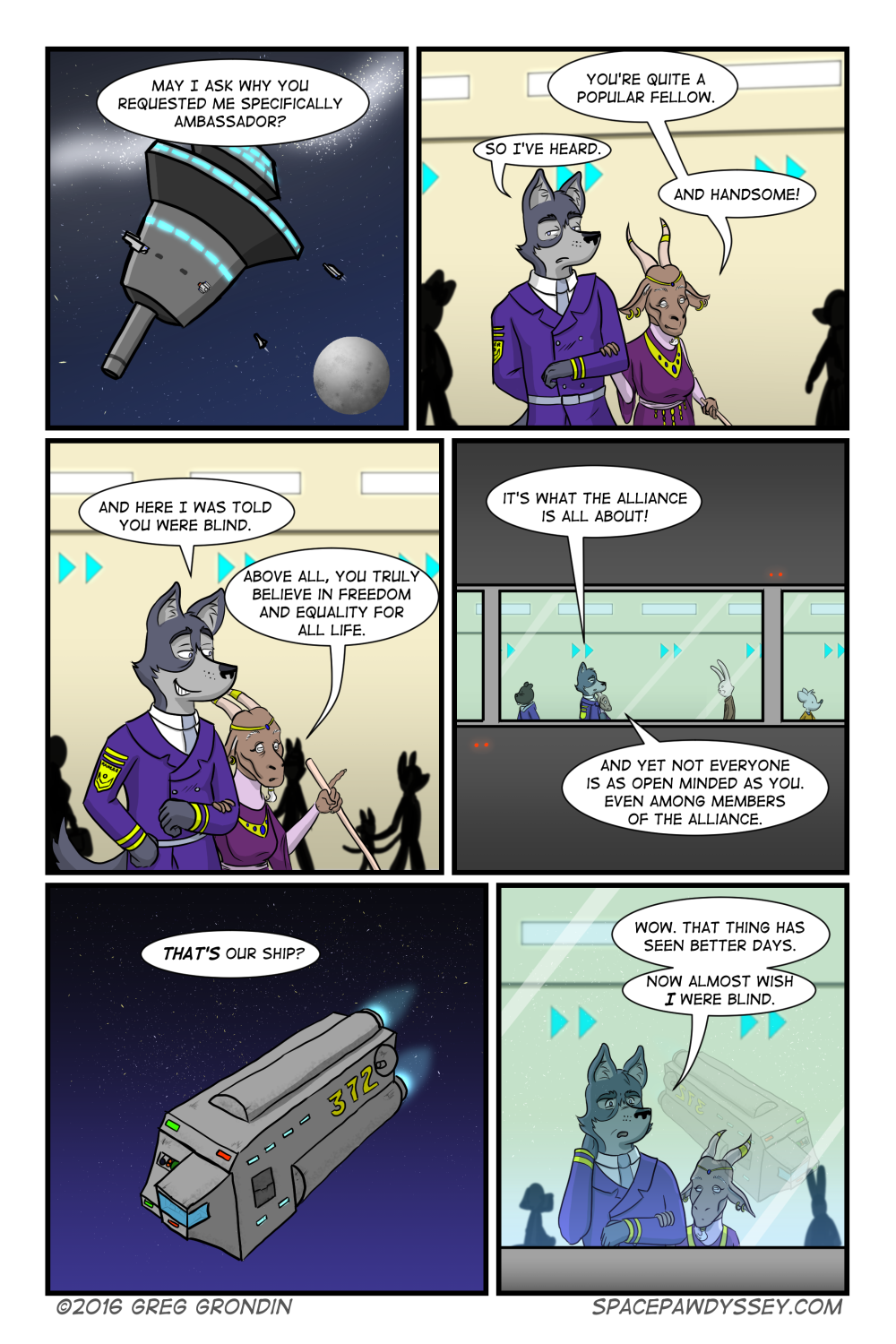 Space Pawdyssey #28