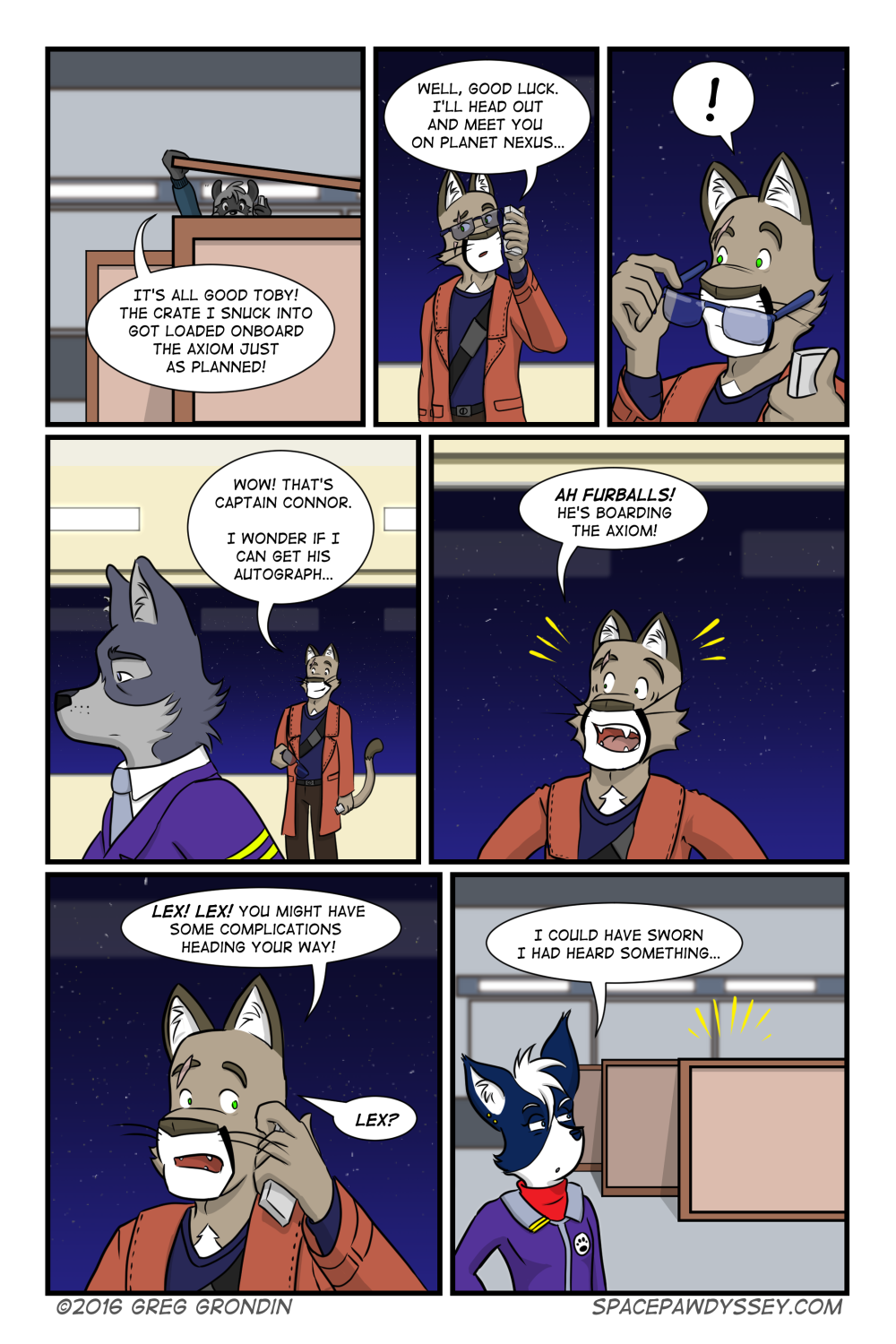 Space Pawdyssey #31