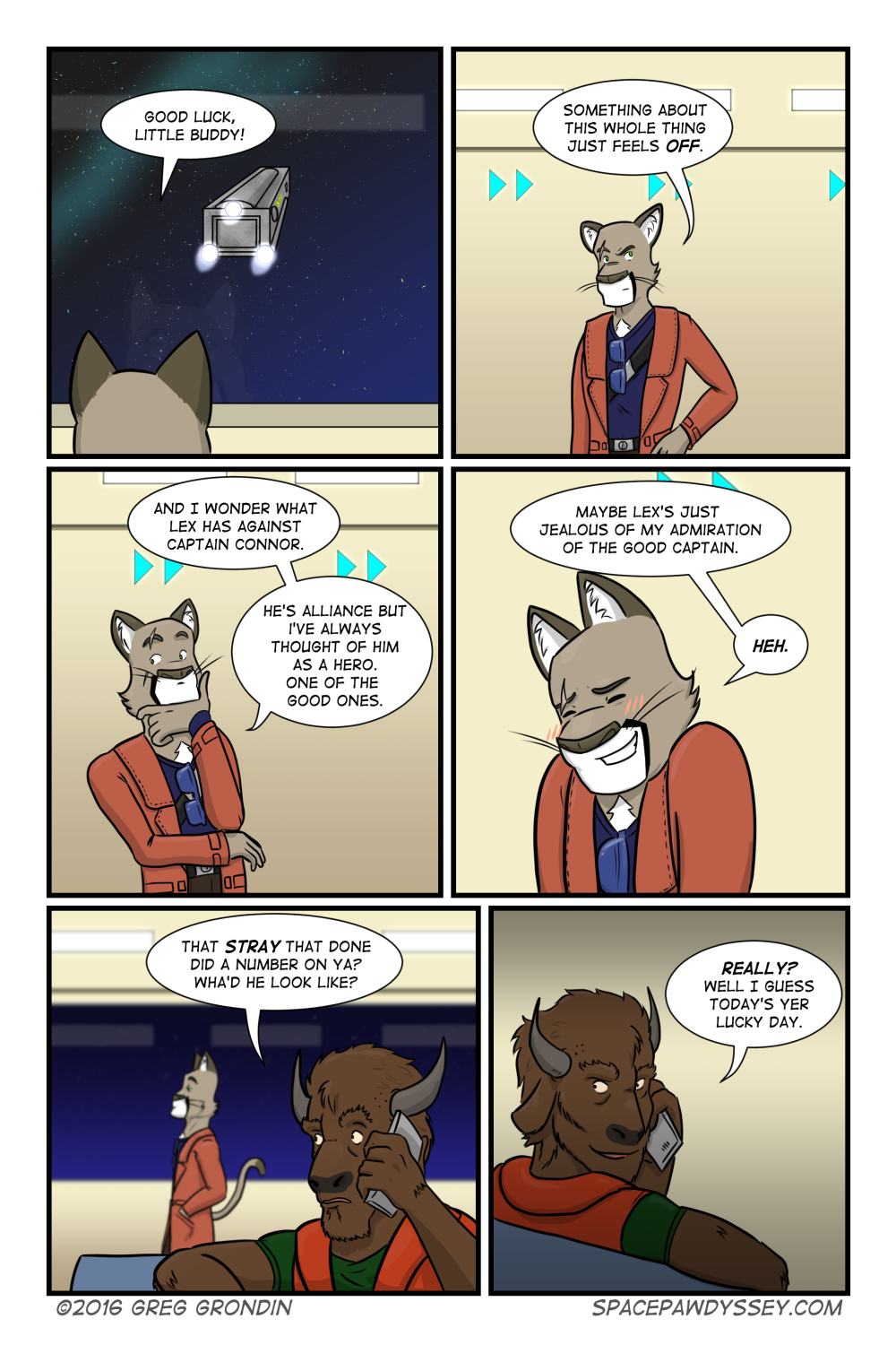 Space Pawdyssey #35