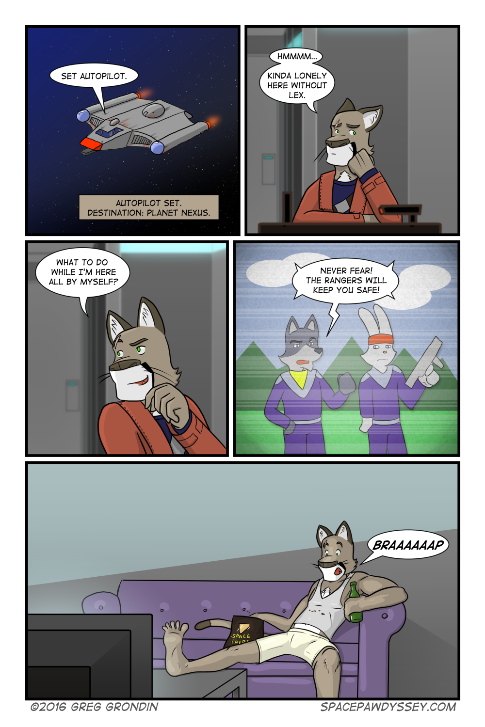 Space Pawdyssey #38