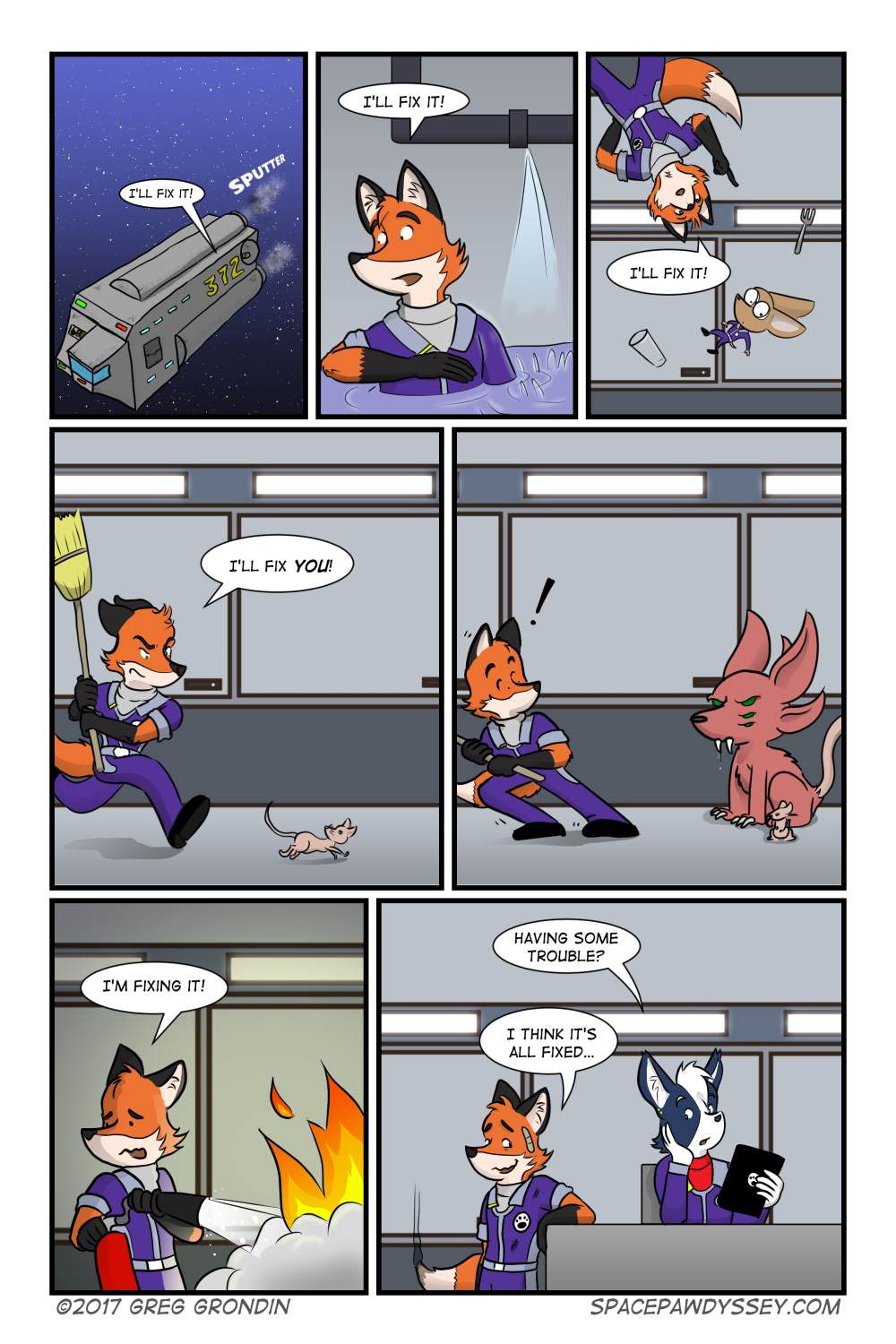 Space Pawdyssey #48