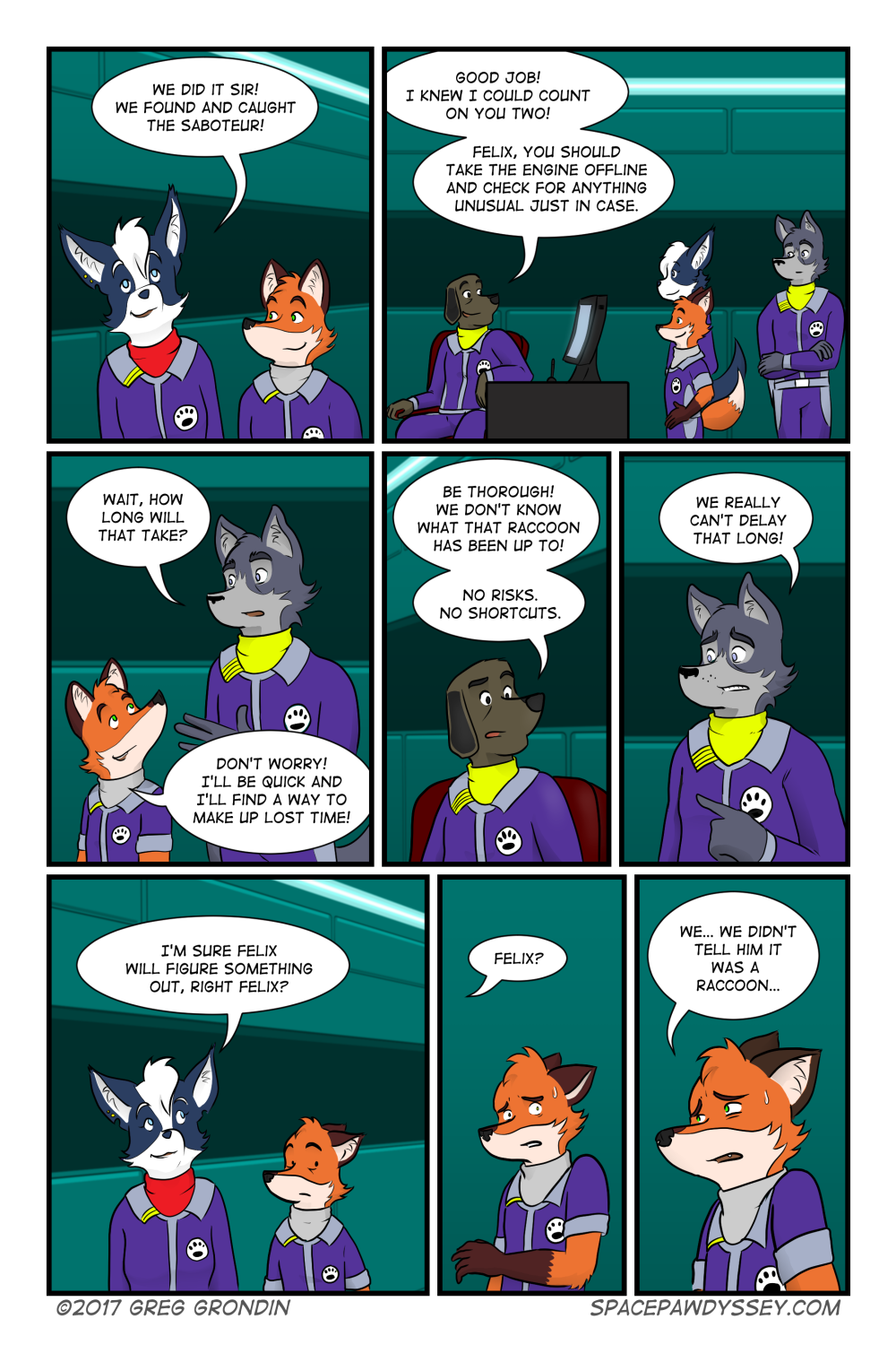 Space Pawdyssey #58