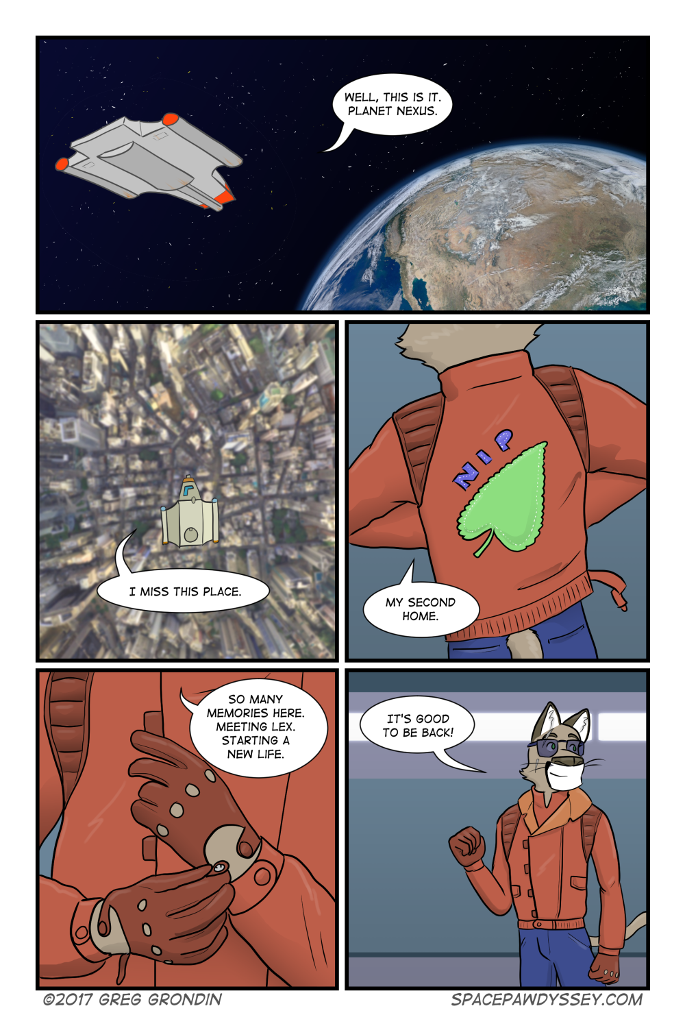 Space Pawdyssey #67