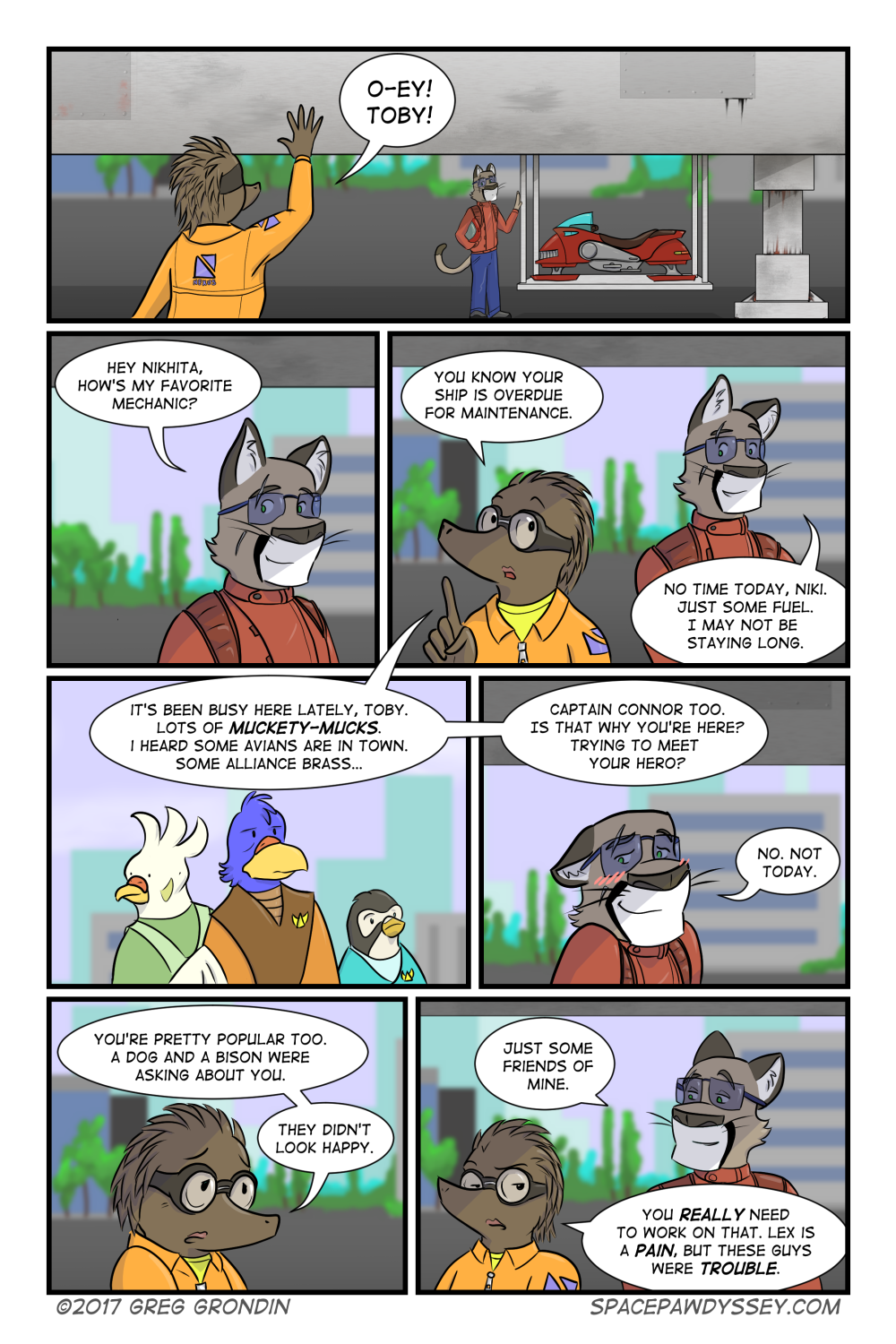 Space Pawdyssey #68