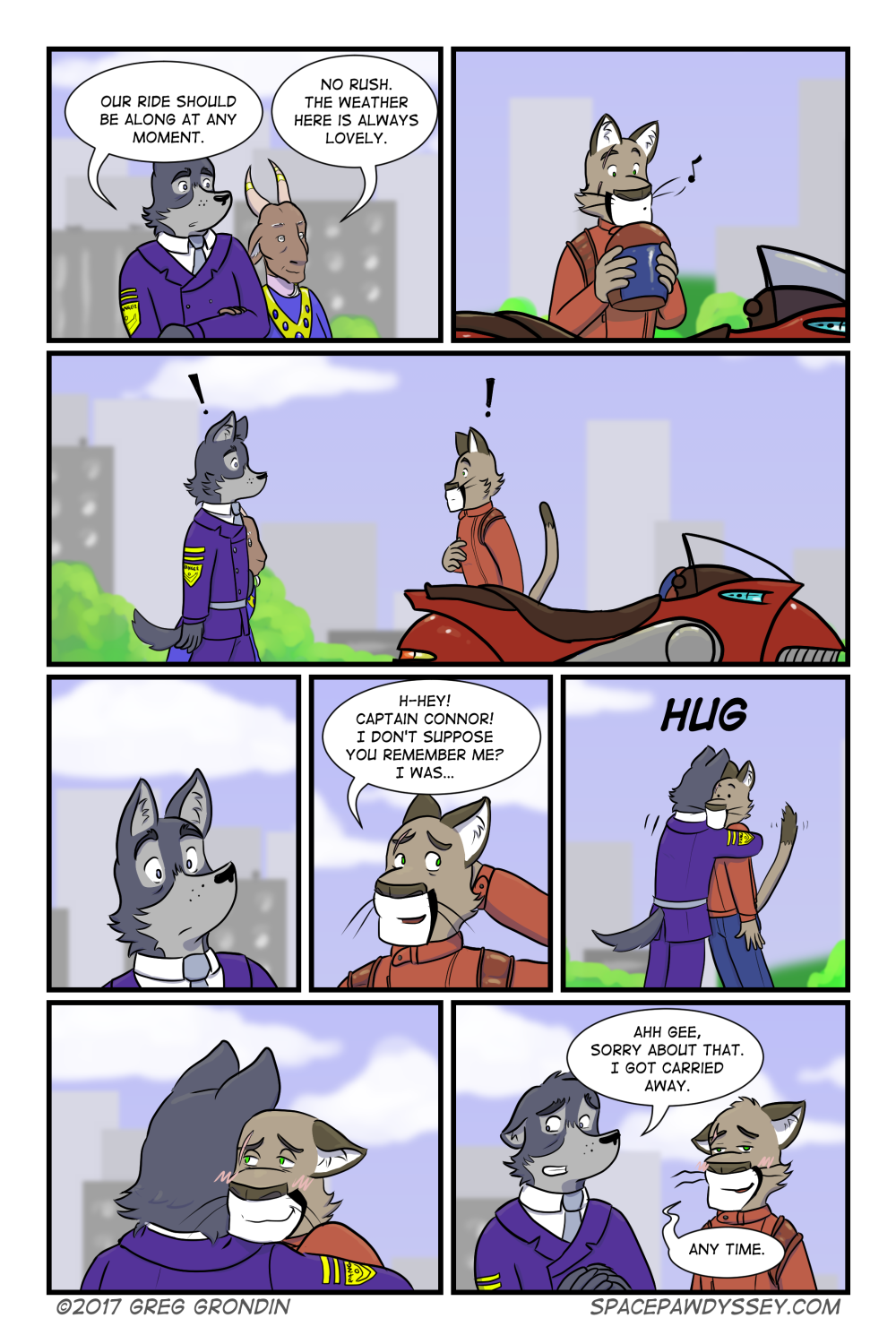 Space Pawdyssey #74