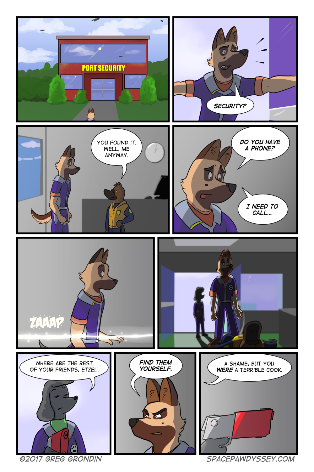 Space Pawdyssey #90