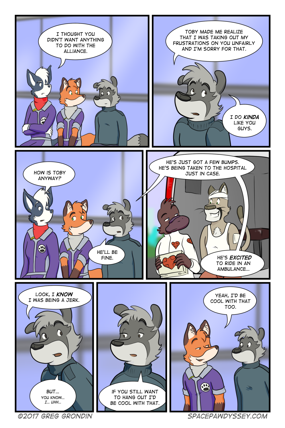 Space Pawdyssey #111