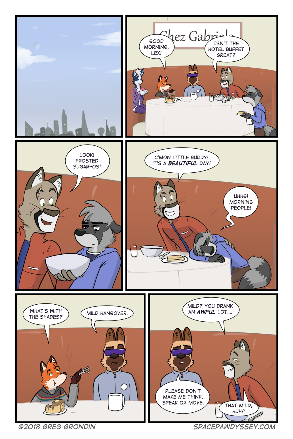 Space Pawdyssey #147