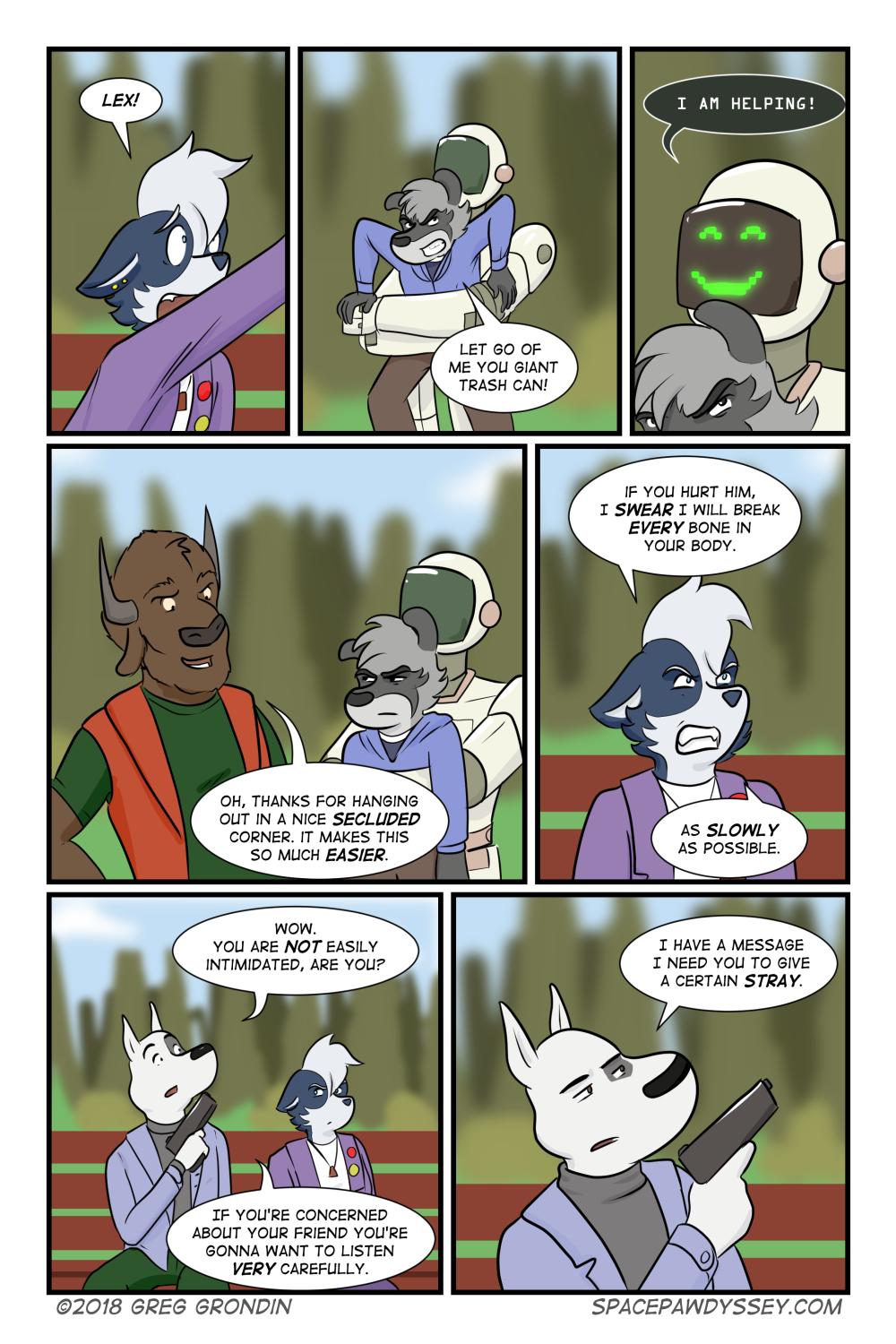 Space Pawdyssey #156
