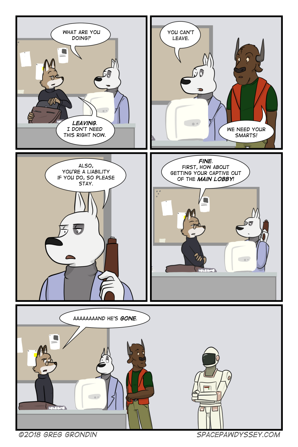 Space Pawdyssey #167