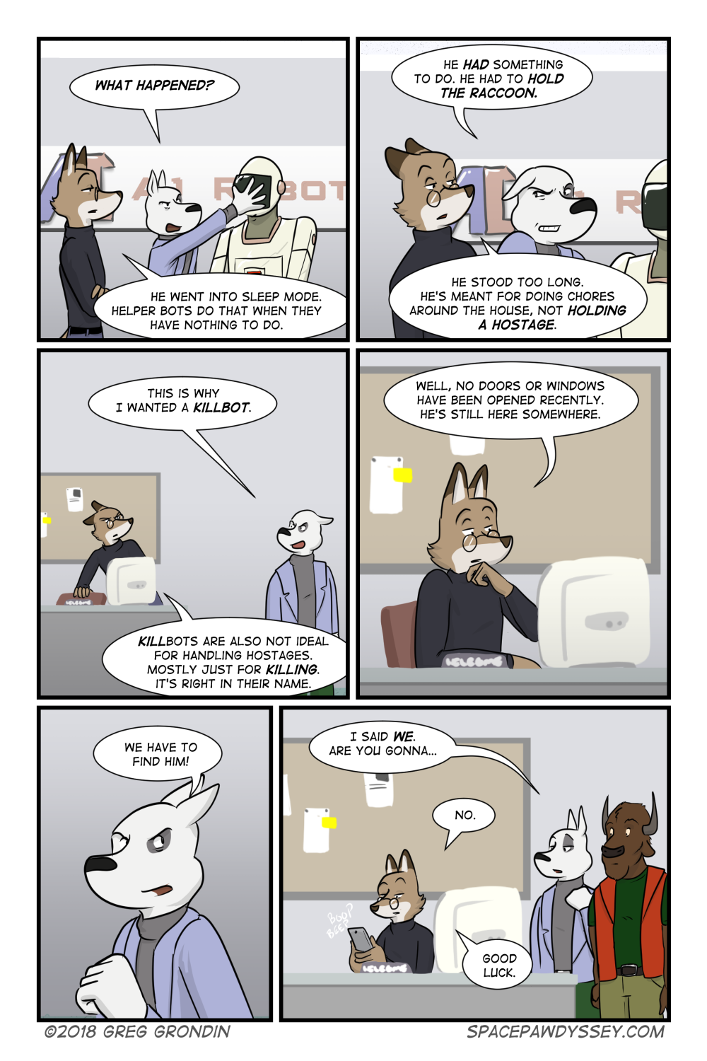Space Pawdyssey #168