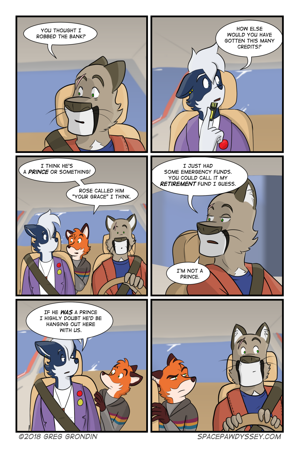 Space Pawdyssey #170