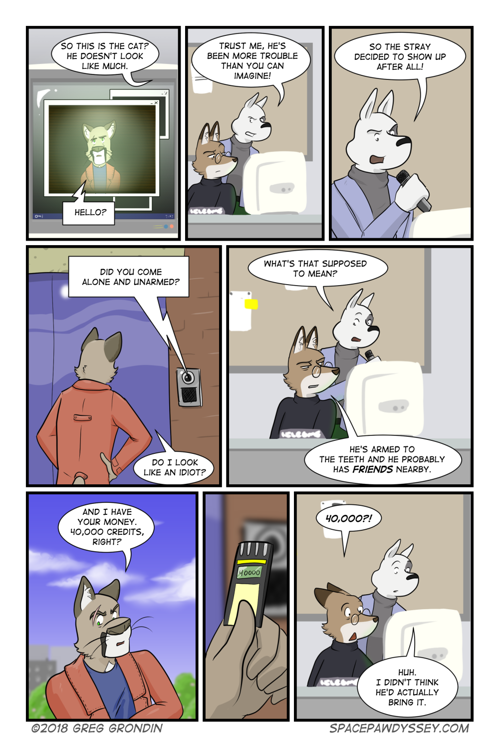 Space Pawdyssey #180