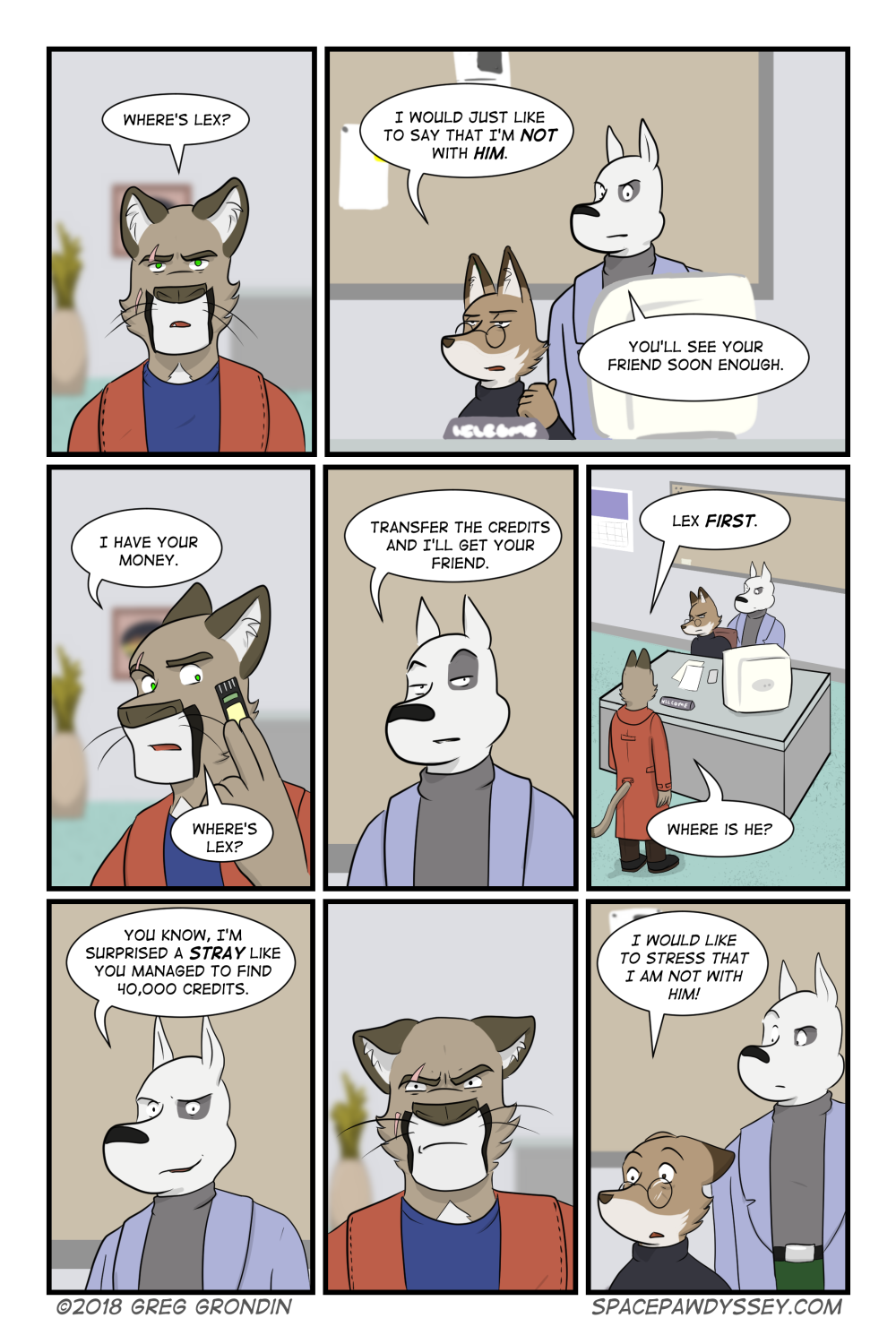 Space Pawdyssey #184