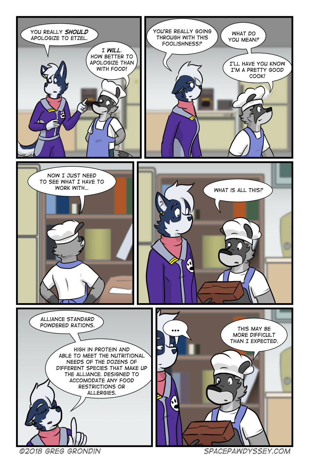 Space Pawdyssey #218