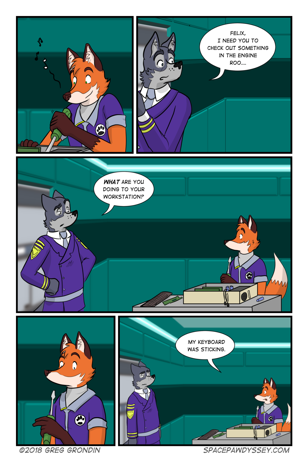 Space Pawdyssey #227