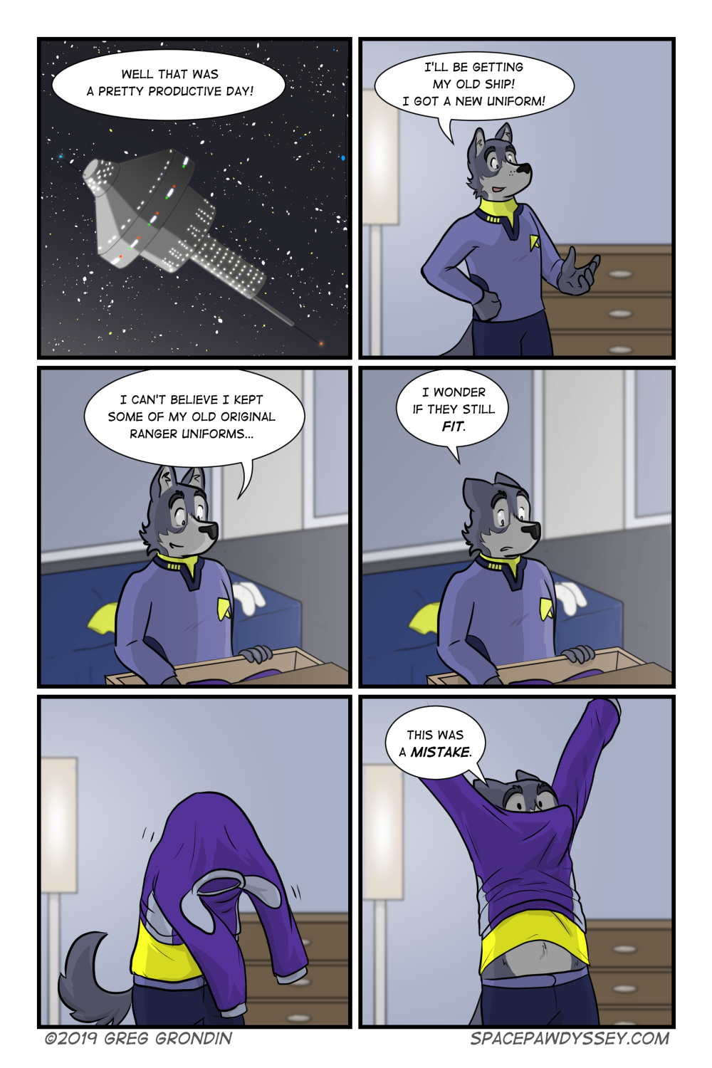 Space Pawdyssey #258