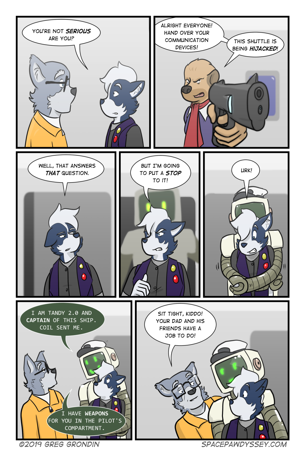 Space Pawdyssey #282