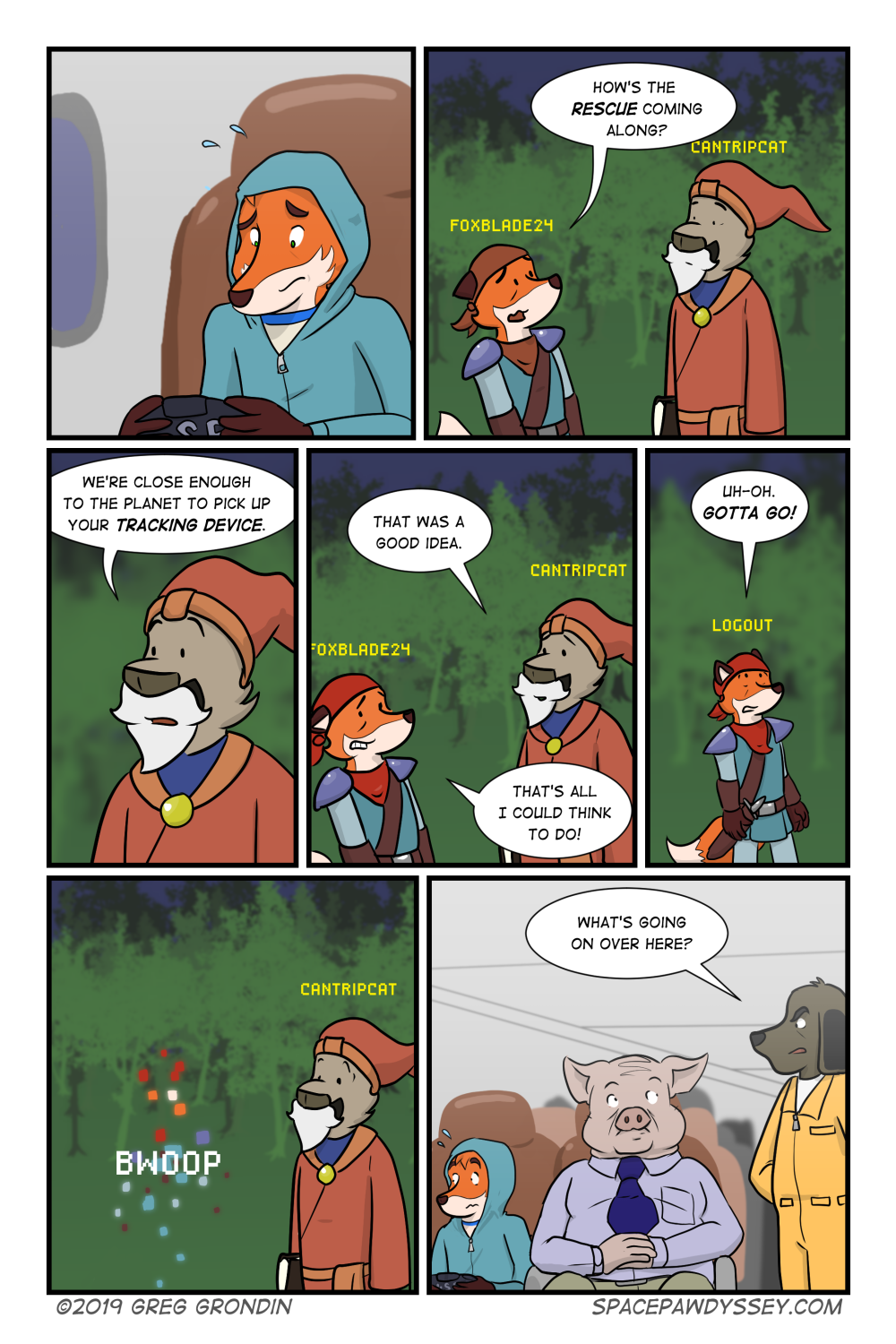 Space Pawdyssey #303