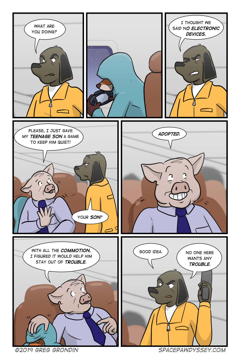 Space Pawdyssey #304