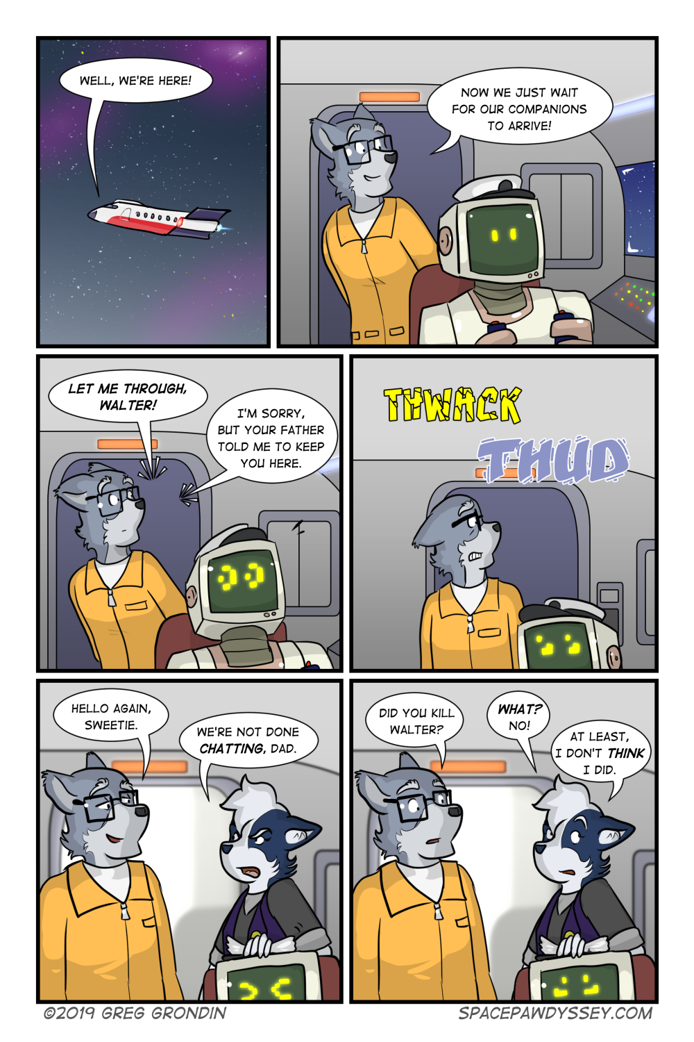 Space Pawdyssey #306