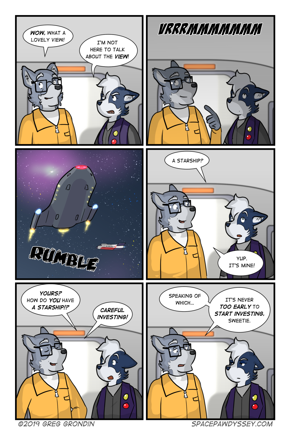 Space Pawdyssey #307