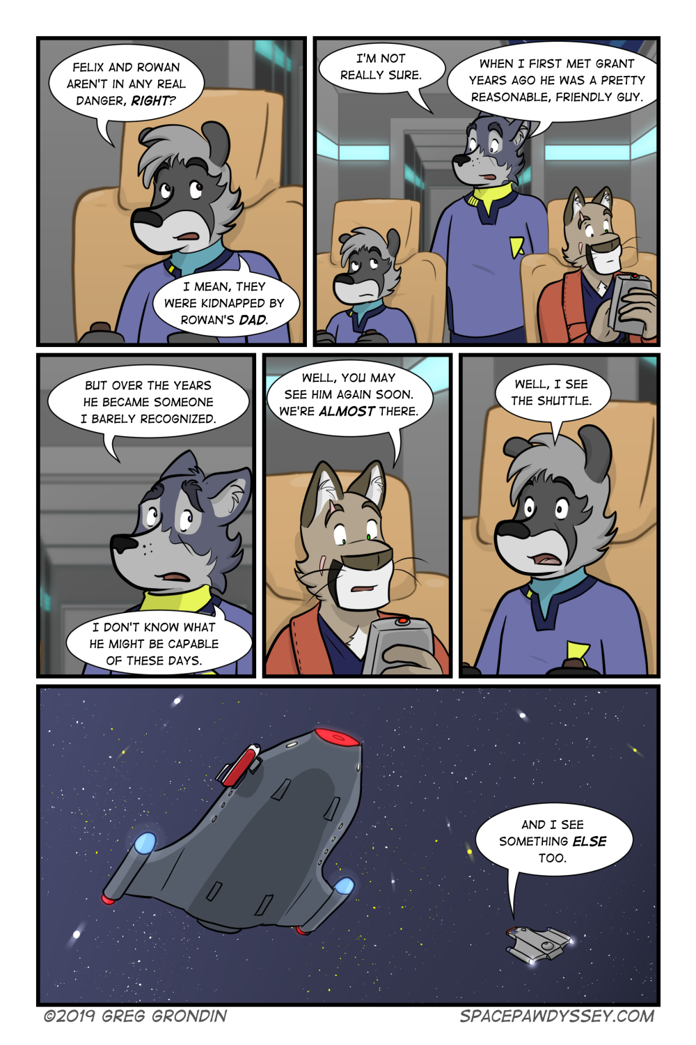 Space Pawdyssey #316