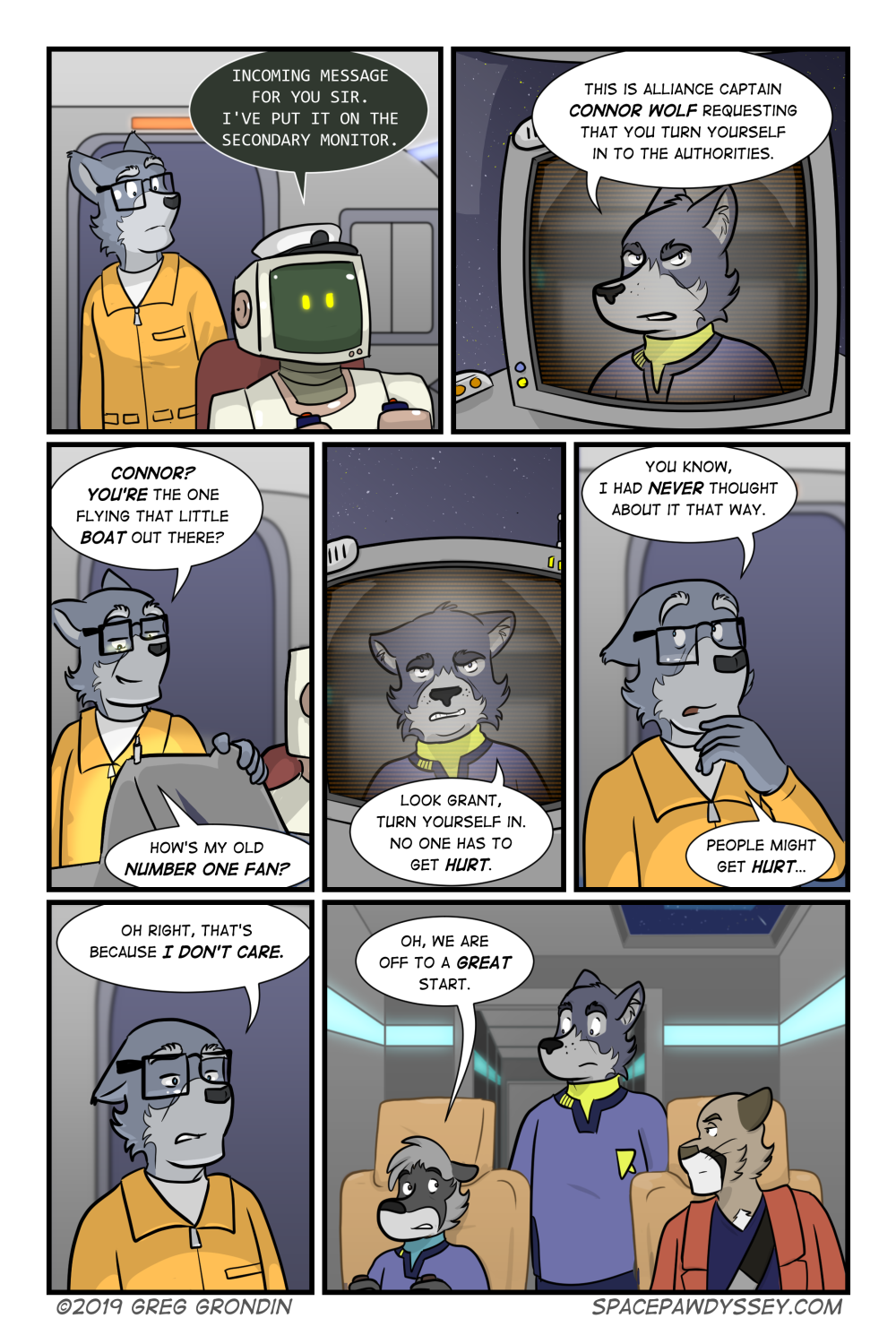 Space Pawdyssey #318