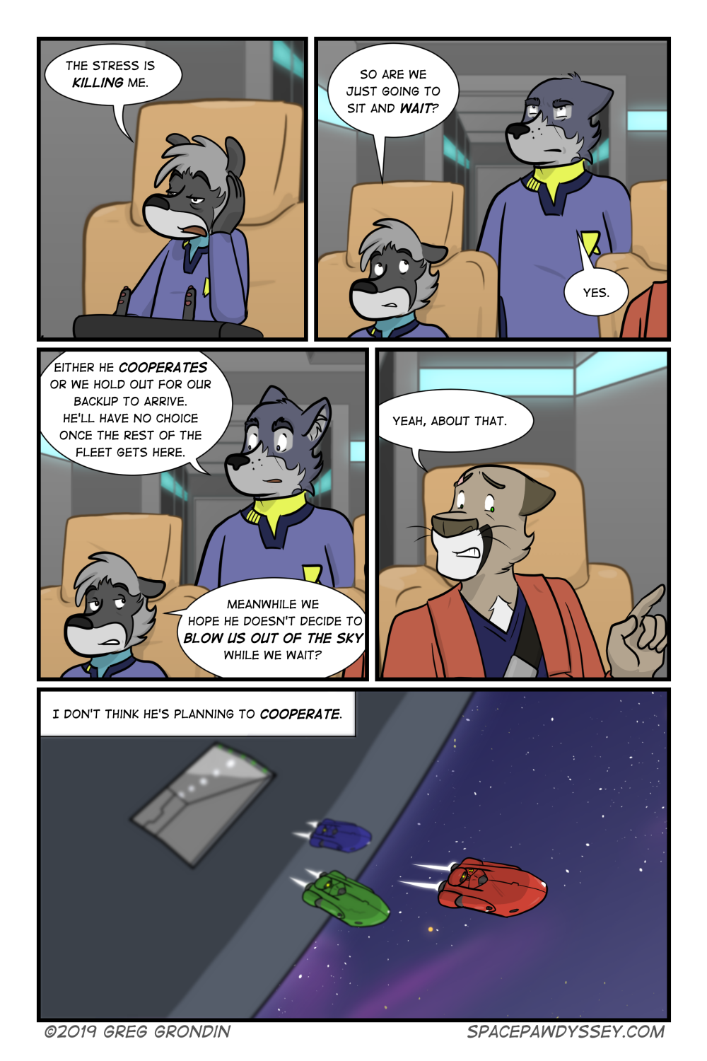 Space Pawdyssey #322