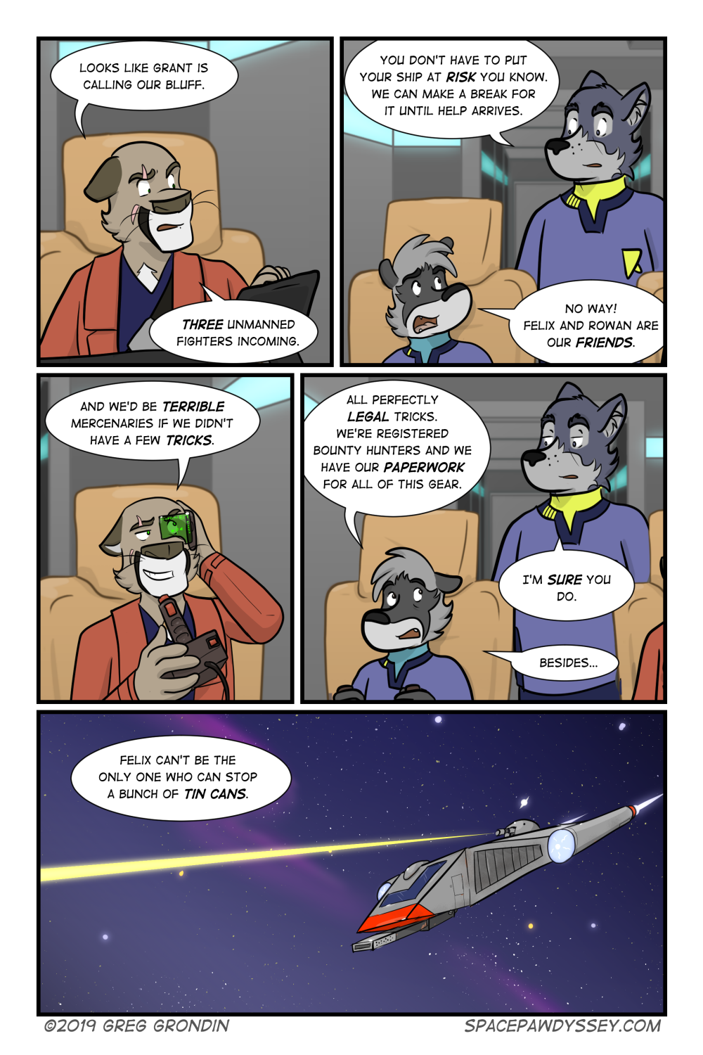 Space Pawdyssey #323