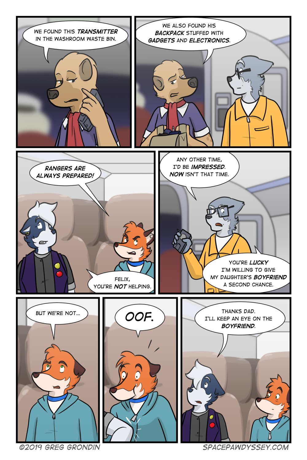 Space Pawdyssey #324