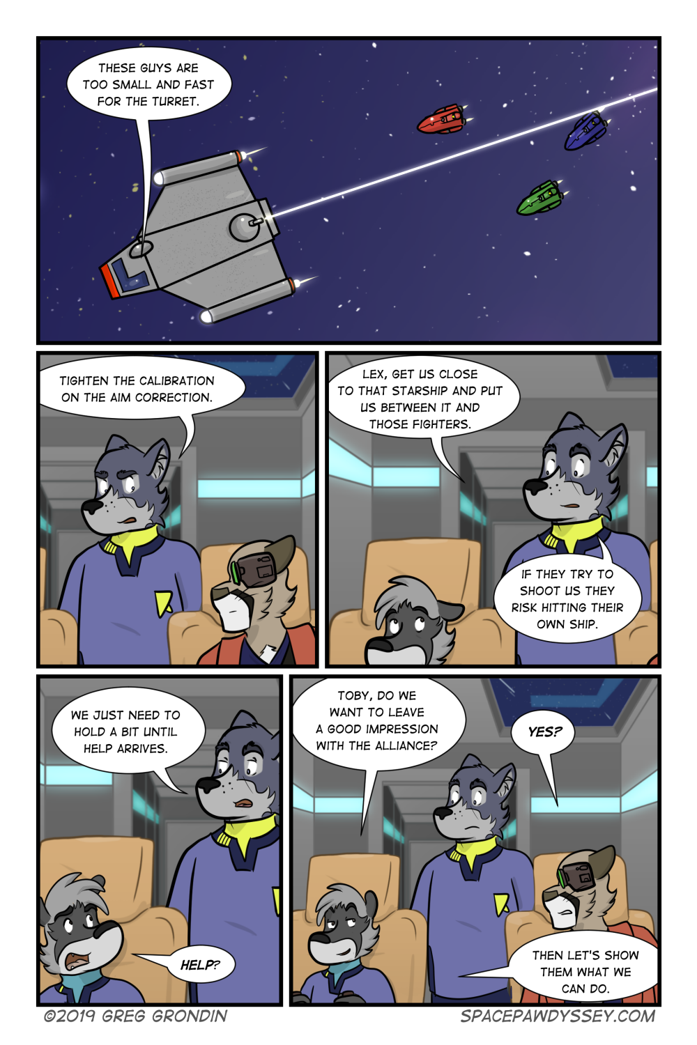 Space Pawdyssey #327