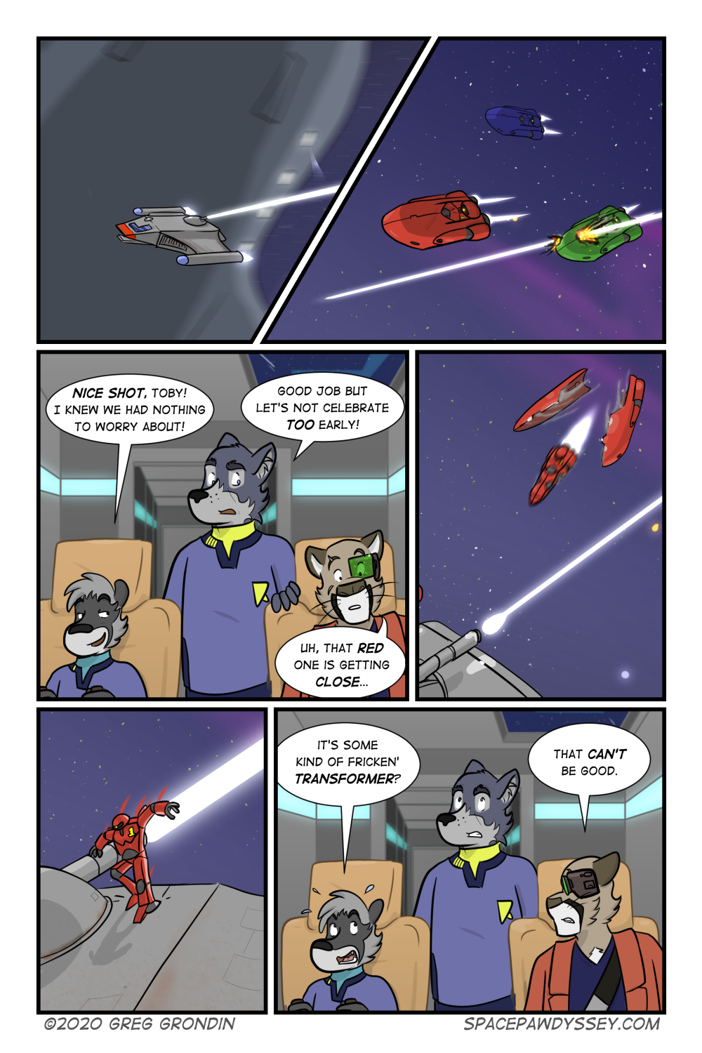 Space Pawdyssey #328