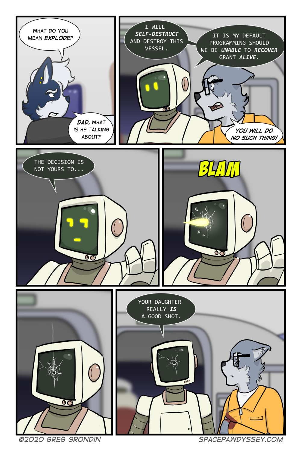 Space Pawdyssey #342