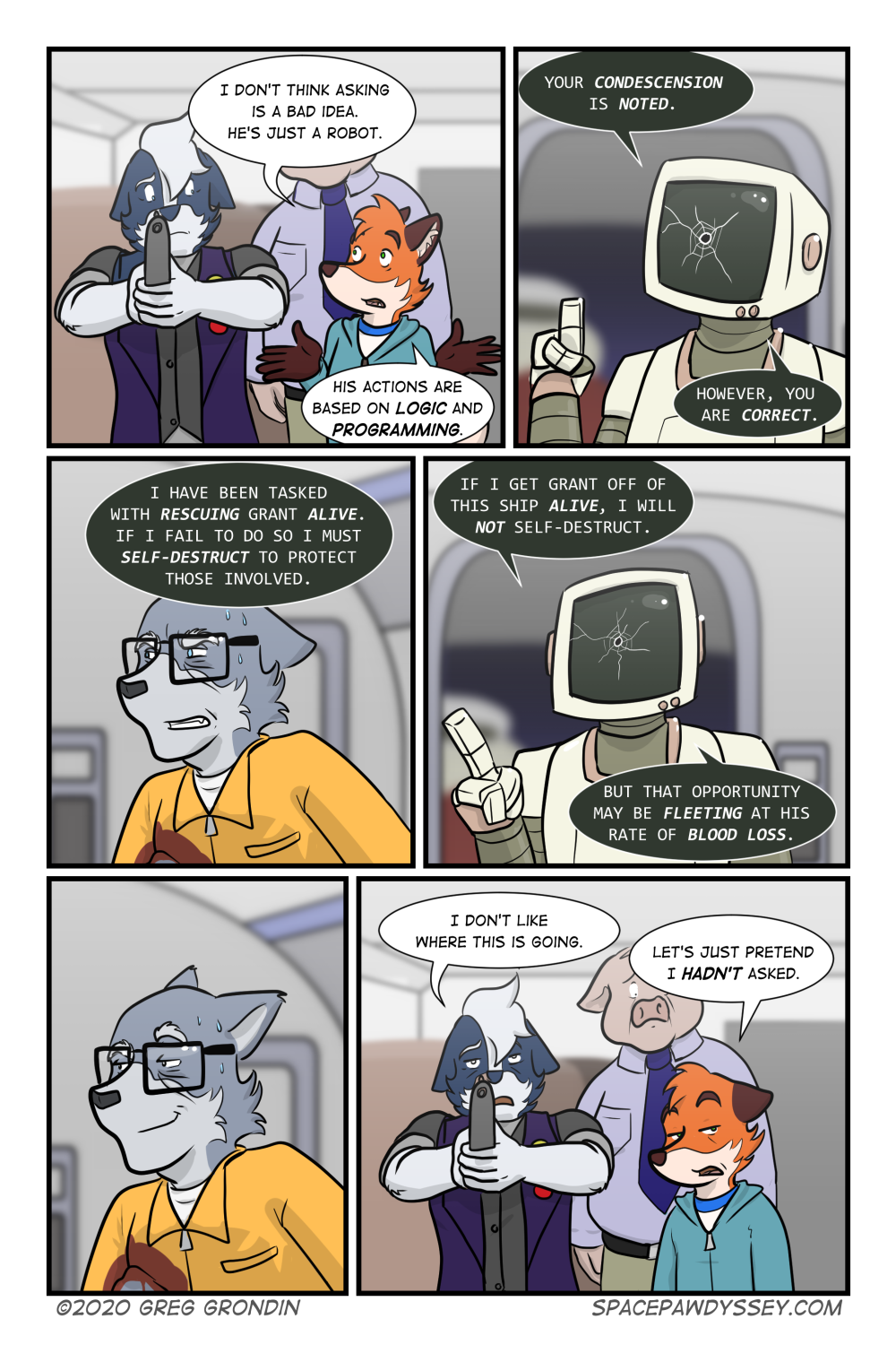 Space Pawdyssey #344
