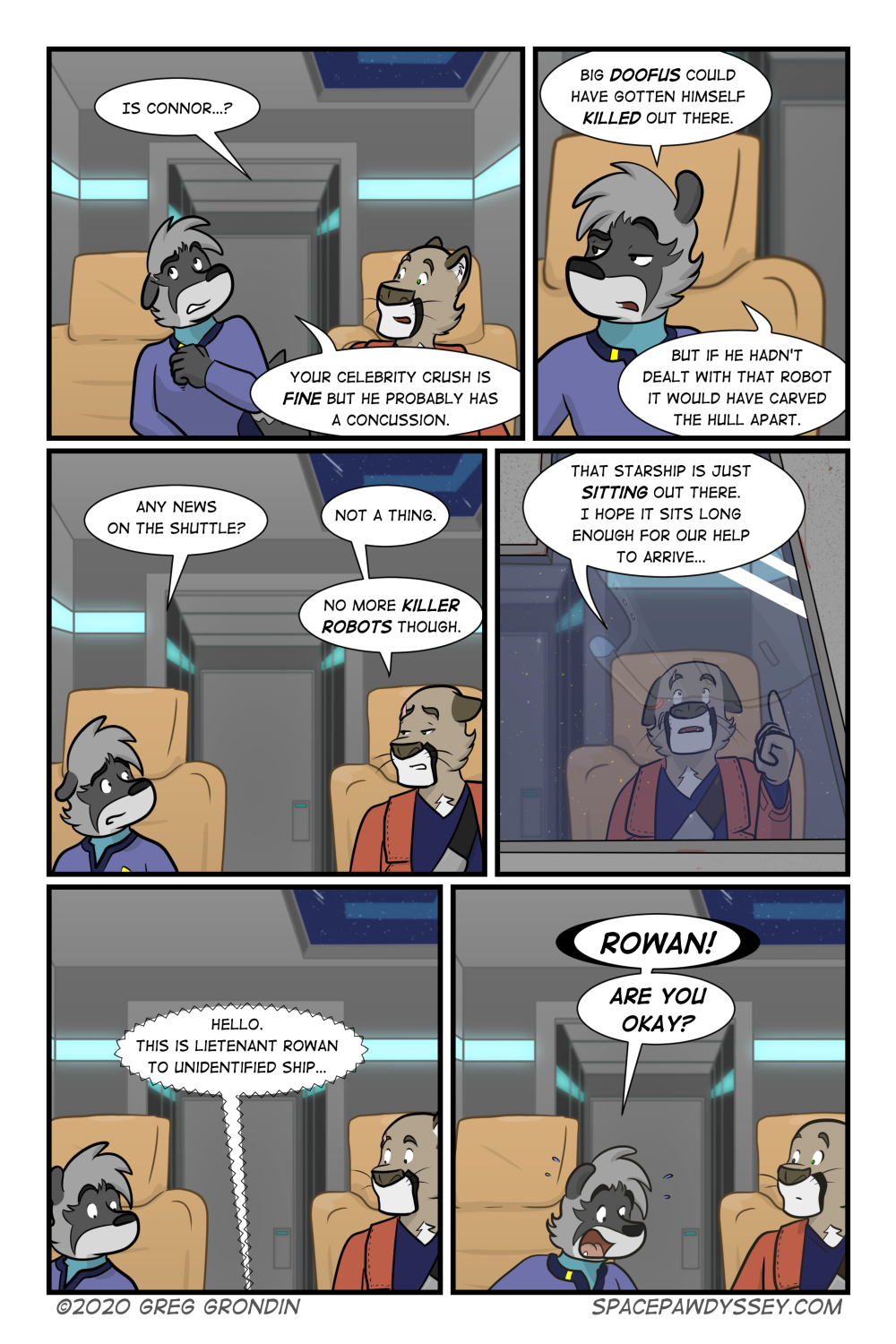 Space Pawdyssey #349