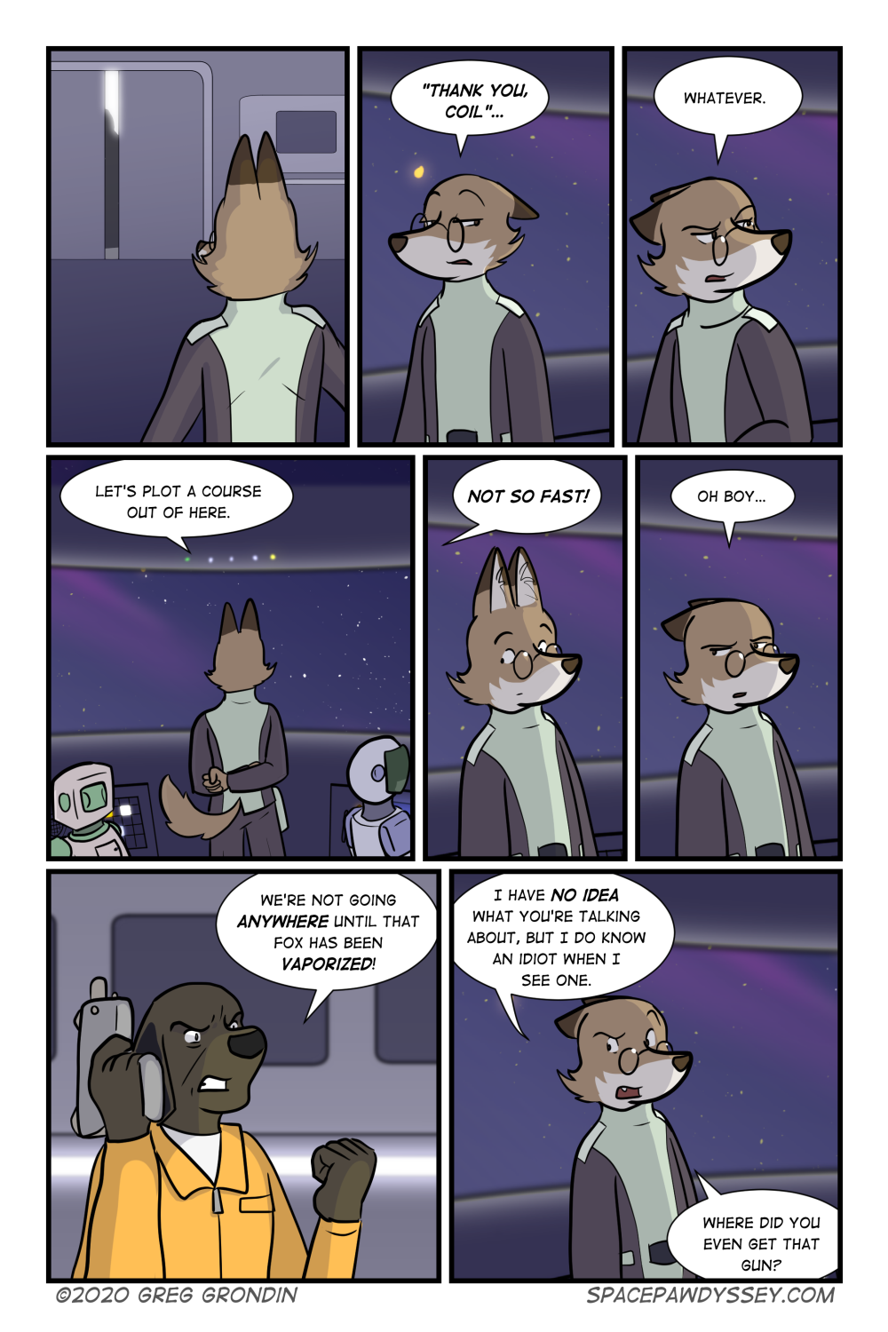 Space Pawdyssey #354