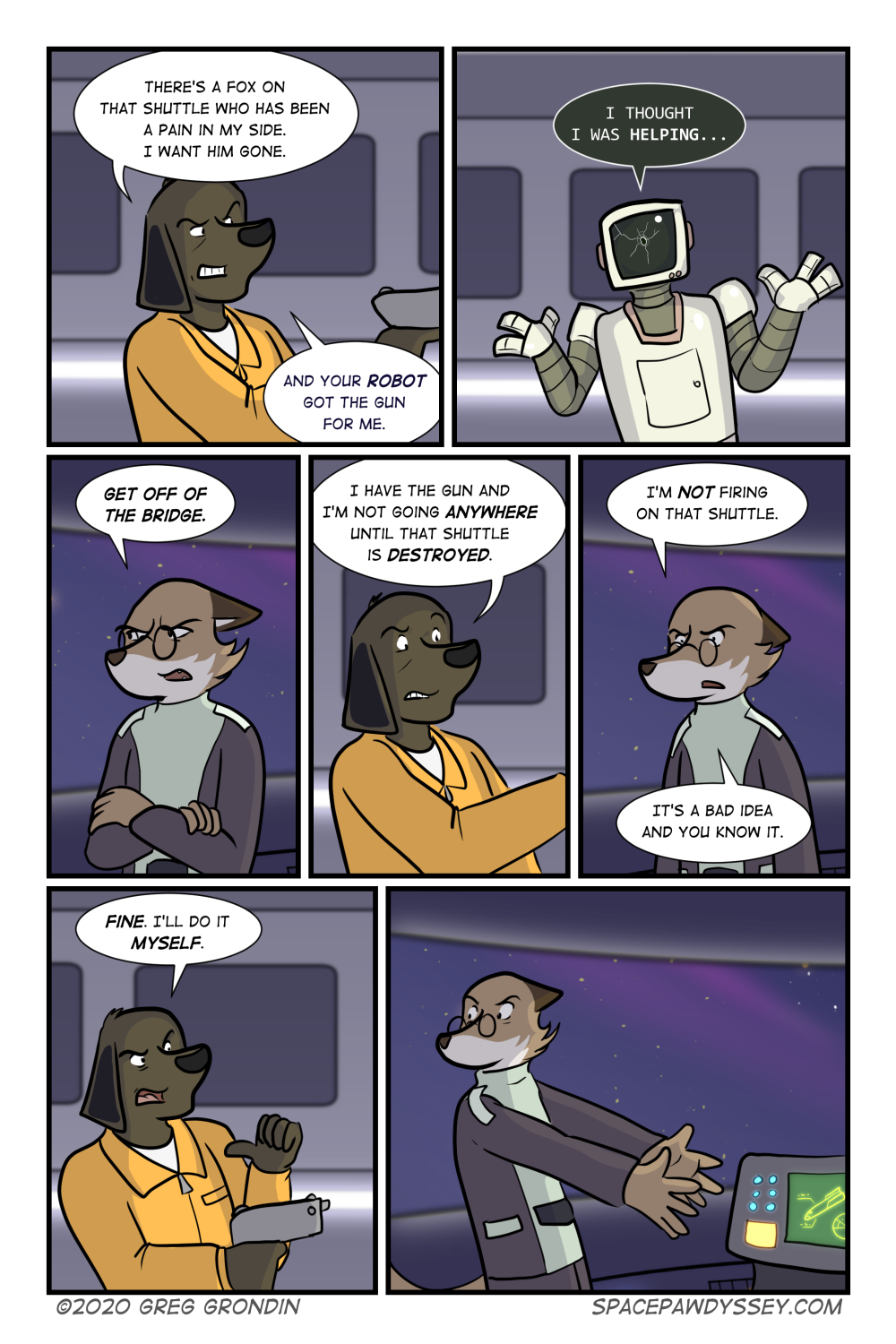 Space Pawdyssey #355