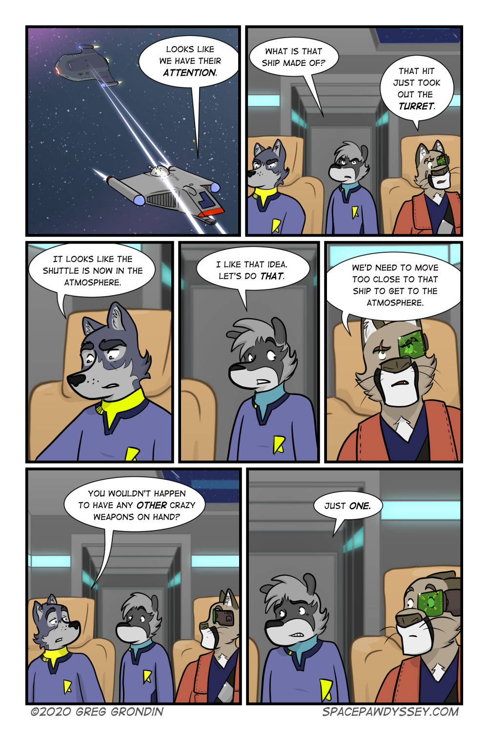 Space Pawdyssey #365