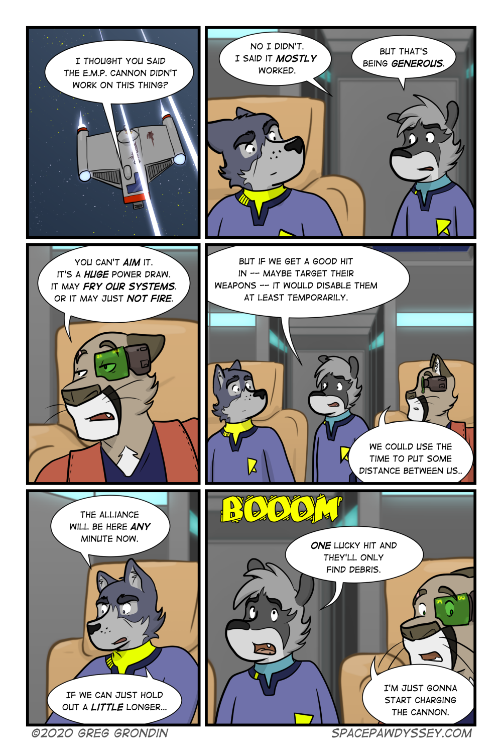 Space Pawdyssey #366
