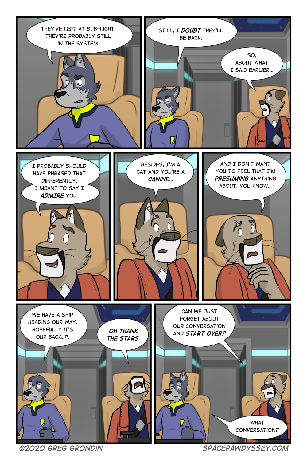 Space Pawdyssey #372