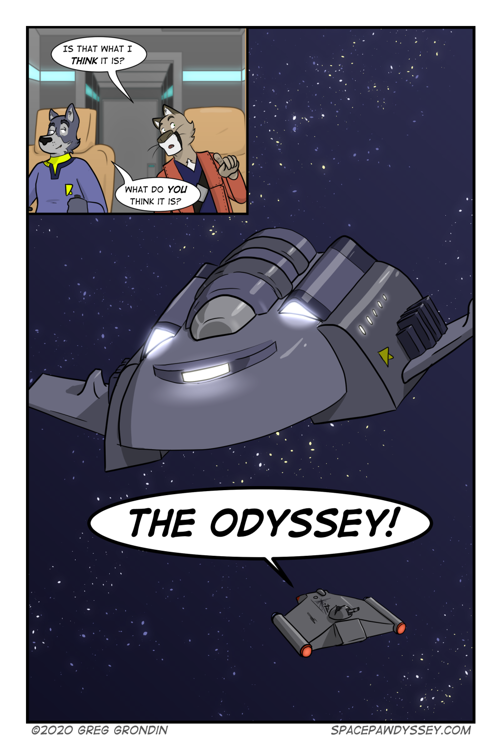 Space Pawdyssey #375