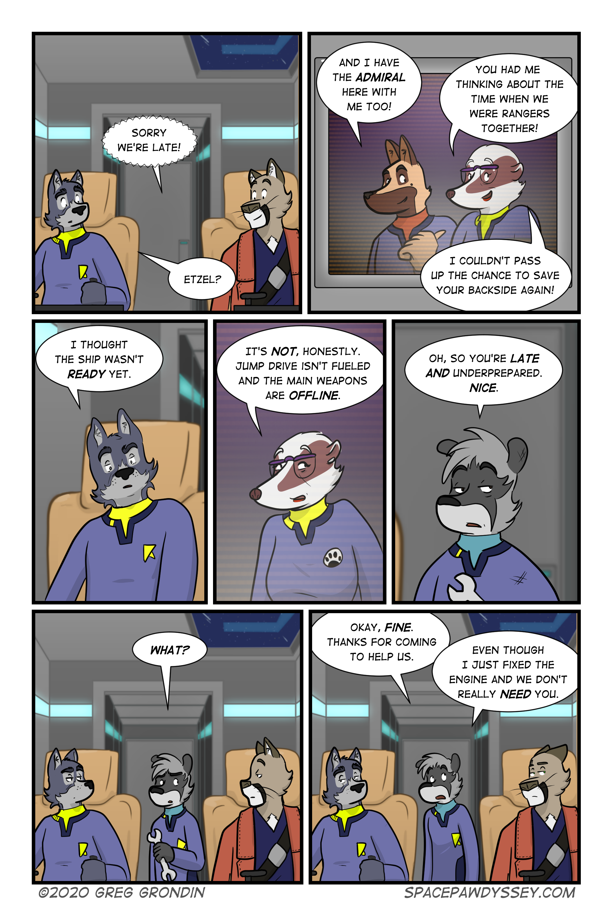 Space Pawdyssey #376