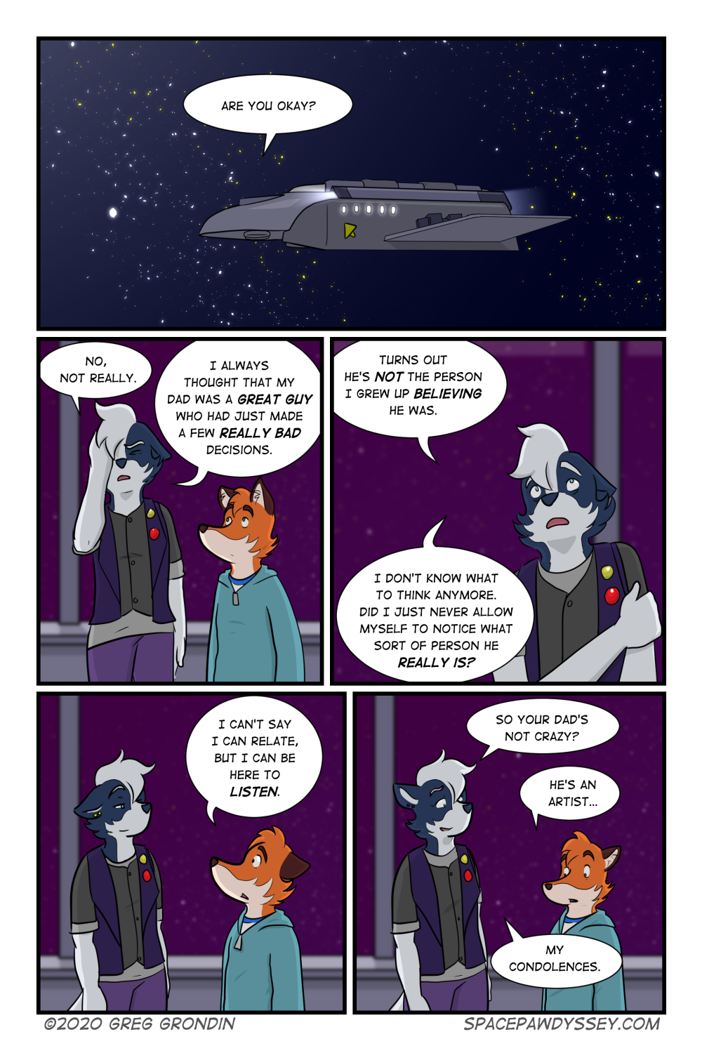 Space Pawdyssey #378