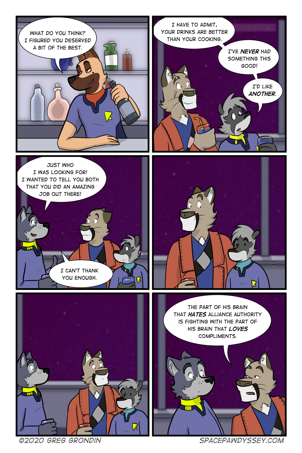 Space Pawdyssey #380